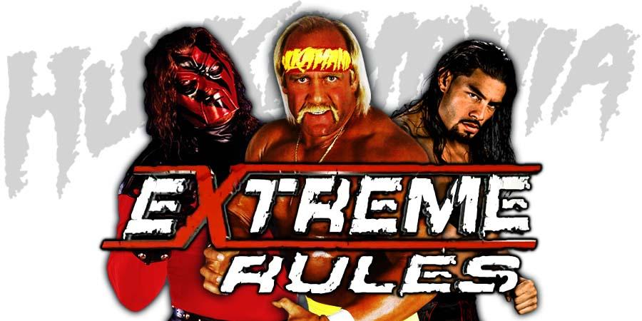 Hulk Hogan Kane Roman Reigns Extreme Rules 2018