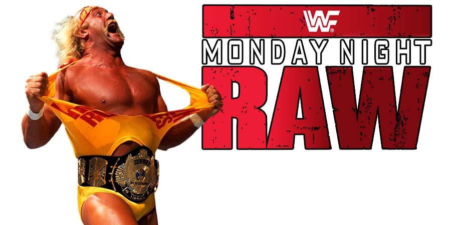 Hulk Hogan WWE RAW 2018