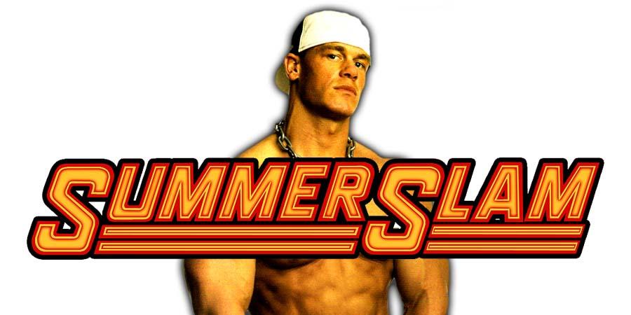 John Cena SummerSlam 2018