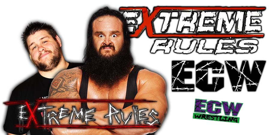 Kevin Owens vs. Braun Strowman Extreme Rules 2018