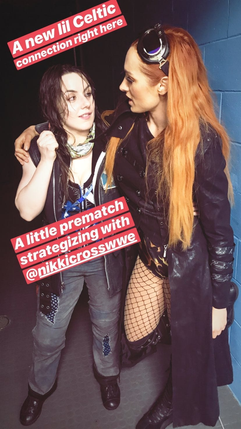 Nikki Cross Teams Up With Becky Lynch At SmackDown Live Event - 1