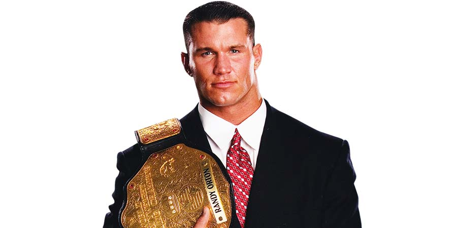 Randy Orton World Heavyweight Champion 2004