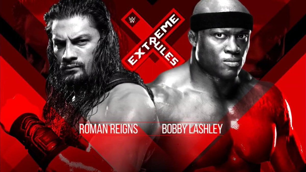 Roman Reigns vs. Bobby Lashley To Main Event Extreme Rules 2018