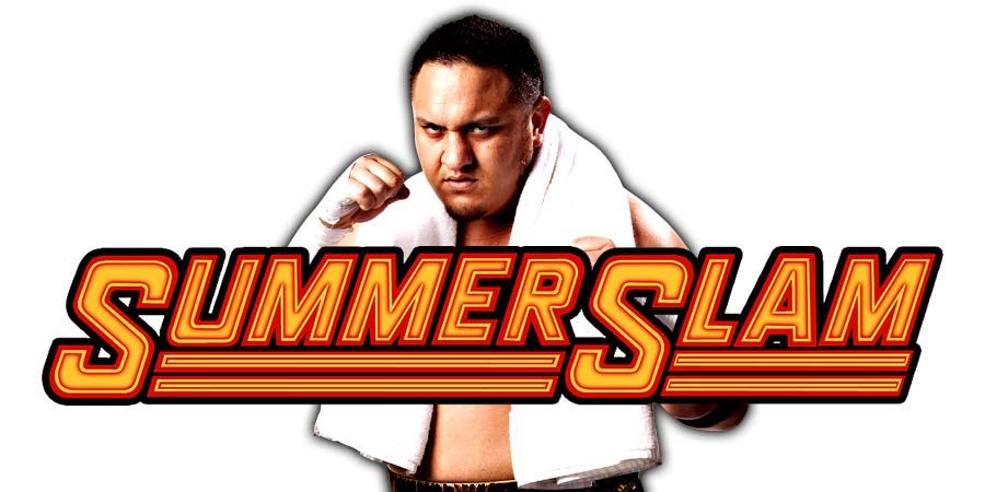 Samoa Joe SummerSlam 2018