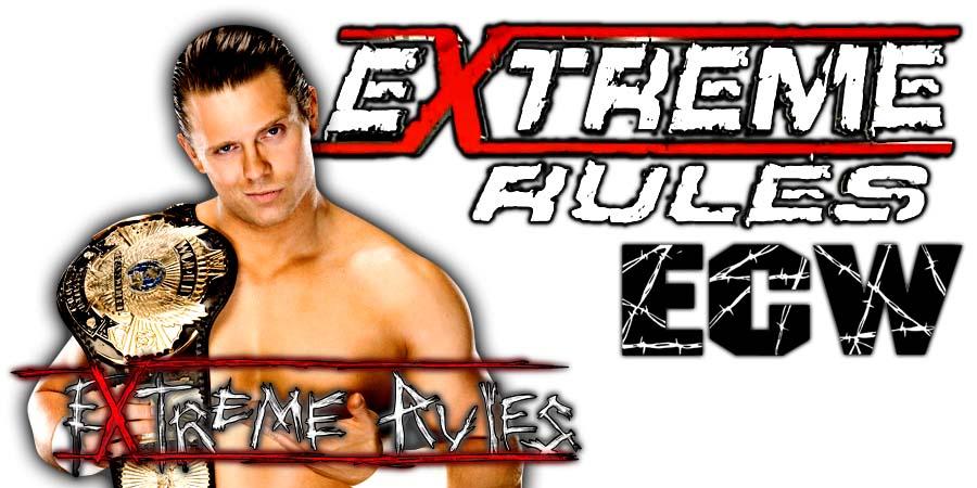 The Miz Extreme Rules 2018