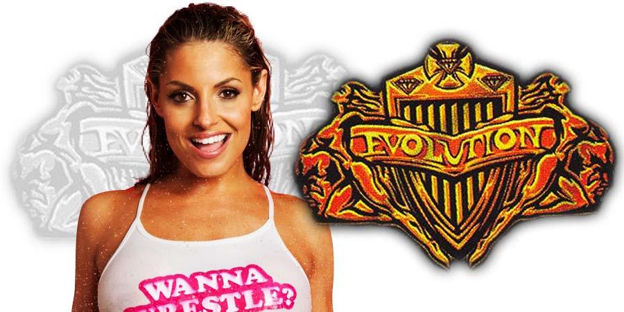 Trish Stratus WWE Evolution 2018 PPV