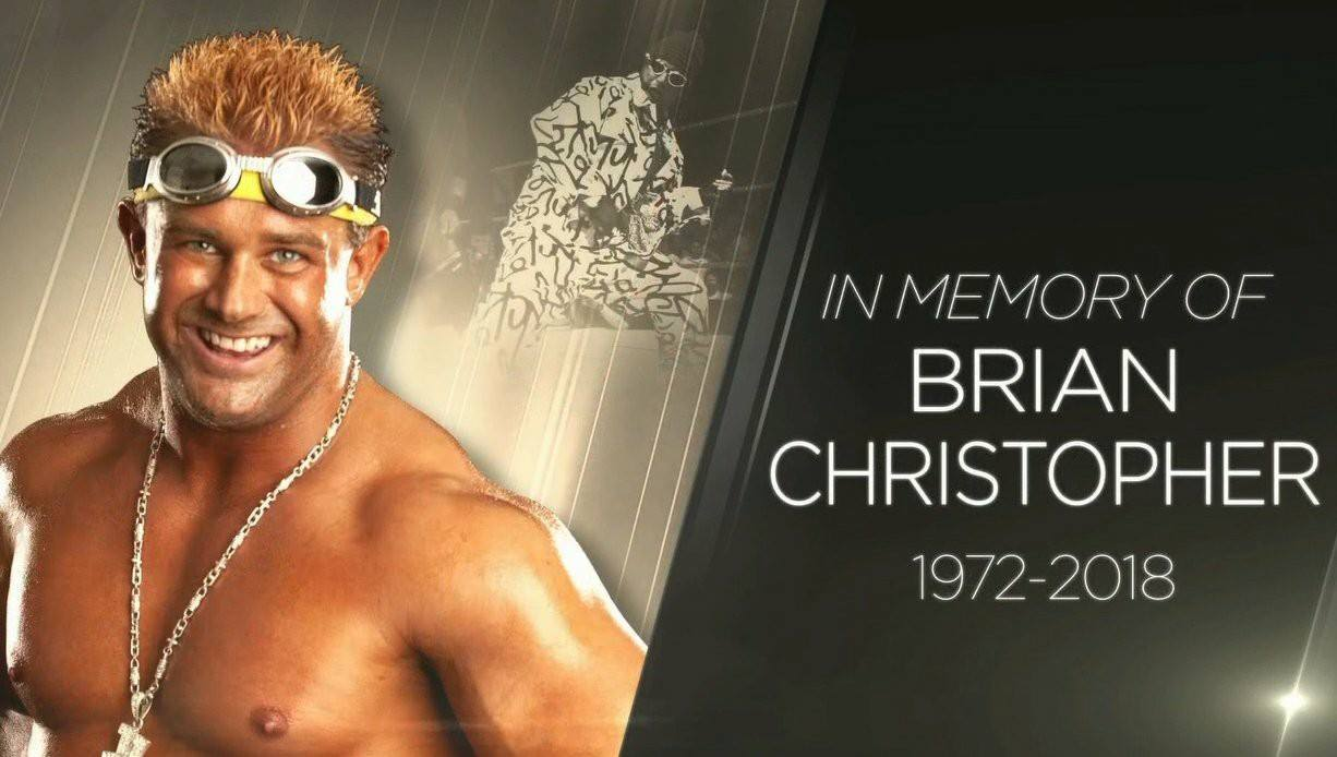 WWE's Tribute Graphic For Brian Christopher On RAW