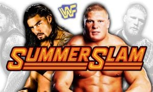 Brock Lesnar vs. Roman Reigns IV - SummerSlam 2018 Main Event (Universal Championship Match)