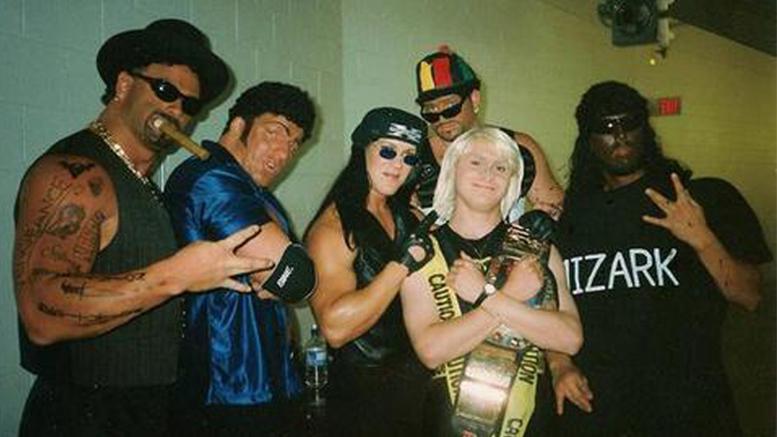 DX Mocks The Nation Of Domination WWF Attitude Era 1998