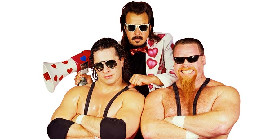 Hart Foundation Bret Hart Jim Neidhart Jimmy Hart