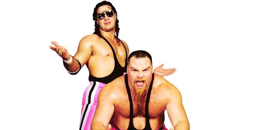 Hart Foundation Bret Hart Jim Neidhart WWF