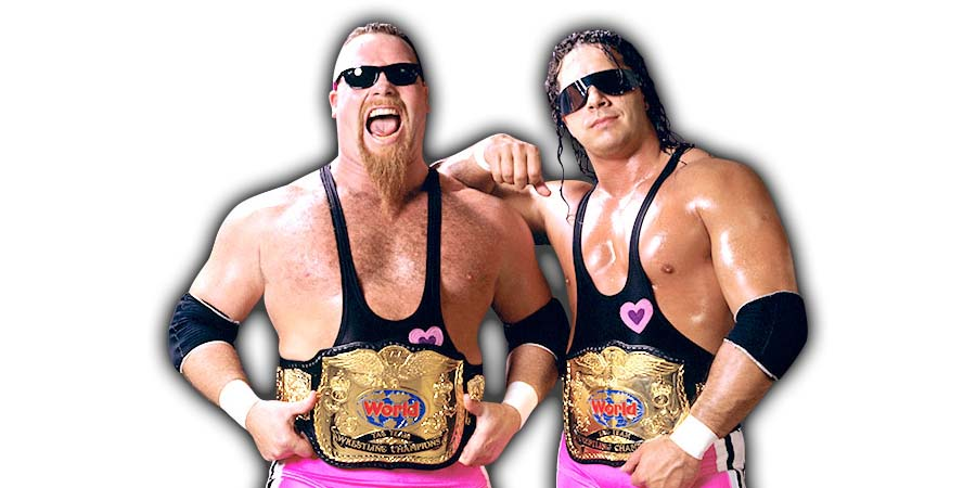 Hart Foundation Bret Hart Jim Neidhart