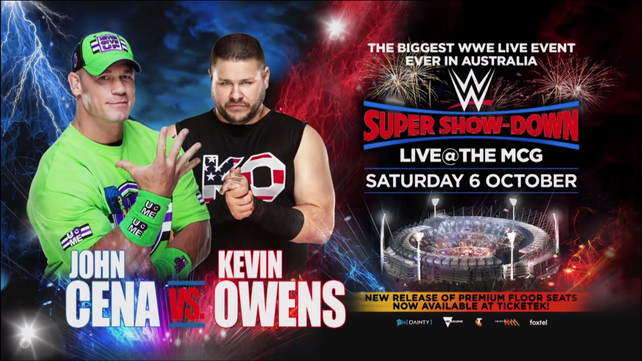 John Cena vs. Kevin Owens - WWE Super Show-Down