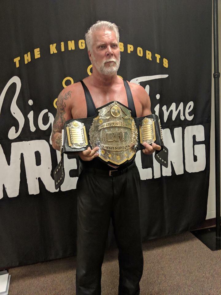 Kevin Nash Wins Big Time Wrestling World Title 2018