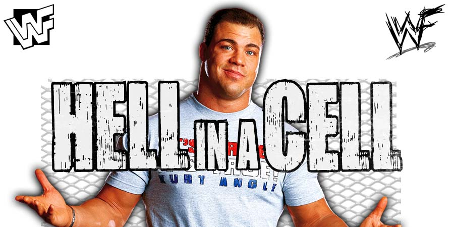 Kurt Angle Hell In A Cell 2018