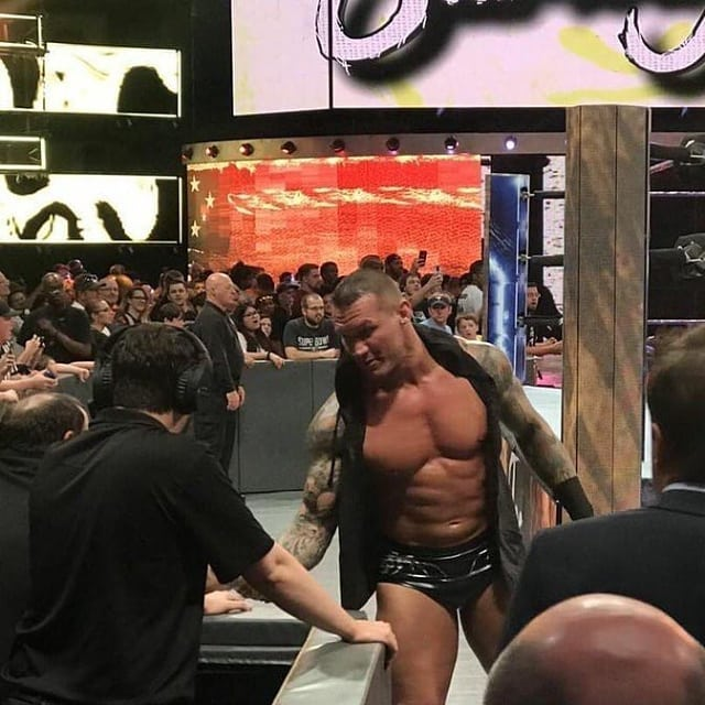Randy Orton Shakes Hands With A WWE Worker After Allegations