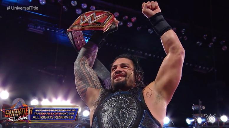 Roman Reigns Wins Universal Championship SummerSlam 2018