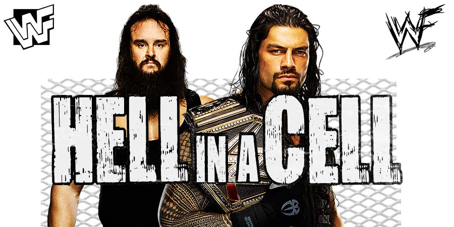 Roman Reigns vs. Braun Strowman - Hell In A Cell 2018 (Universal Championship Match)