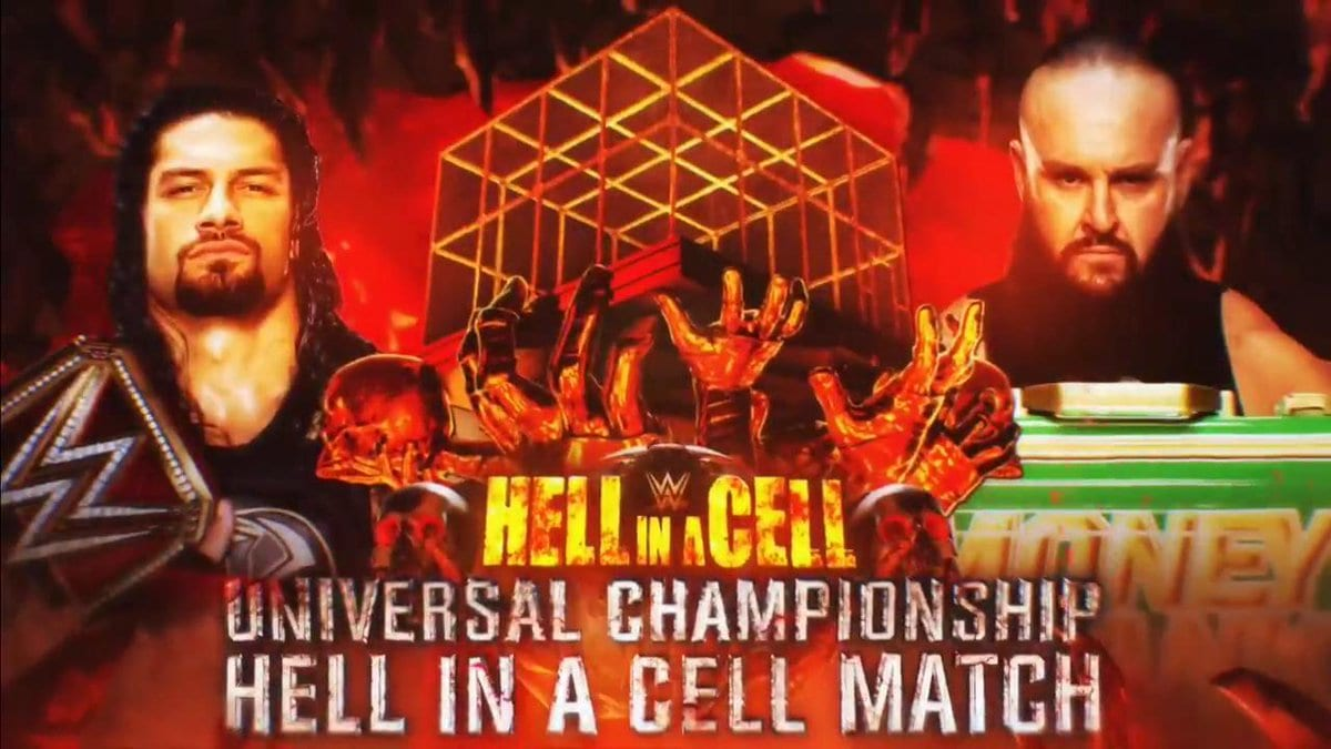 Roman Reigns vs. Braun Strowman - Hell in a Cell match for the Universal Championship
