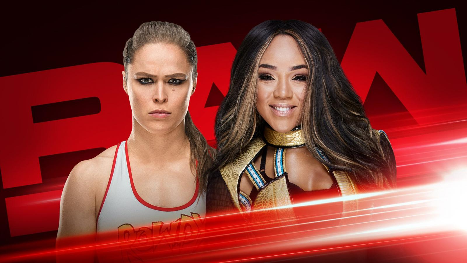 Ronda Rousey RAW In-Ring Debut - Ronda Rousey vs. Alicia Fox