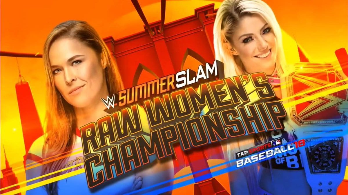 Ronda Rousey Set To Defeat Alexa Bliss To Win RAW Women's Title At SummerSlam 2018