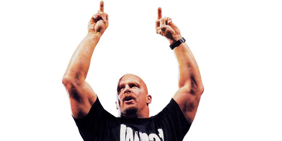 Stone Cold Steve Austin Middle Fingers