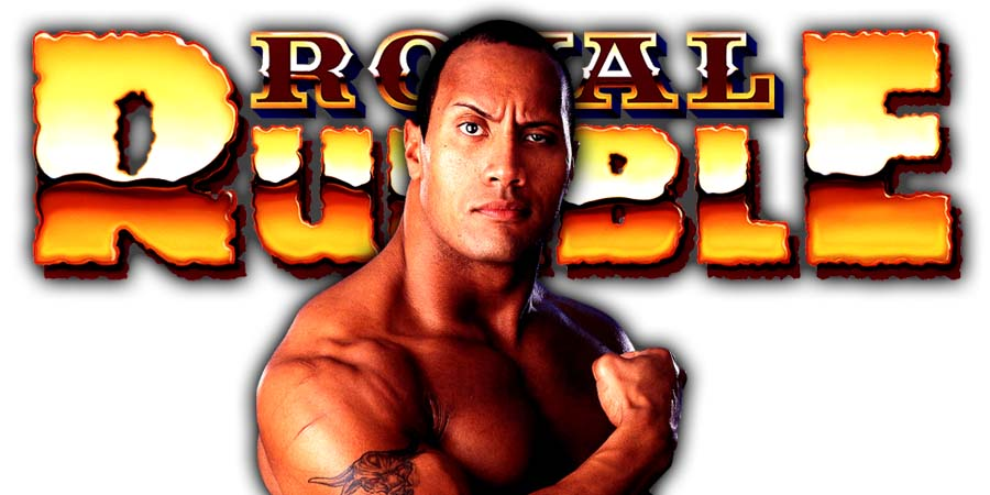 The Rock Royal Rumble 2019
