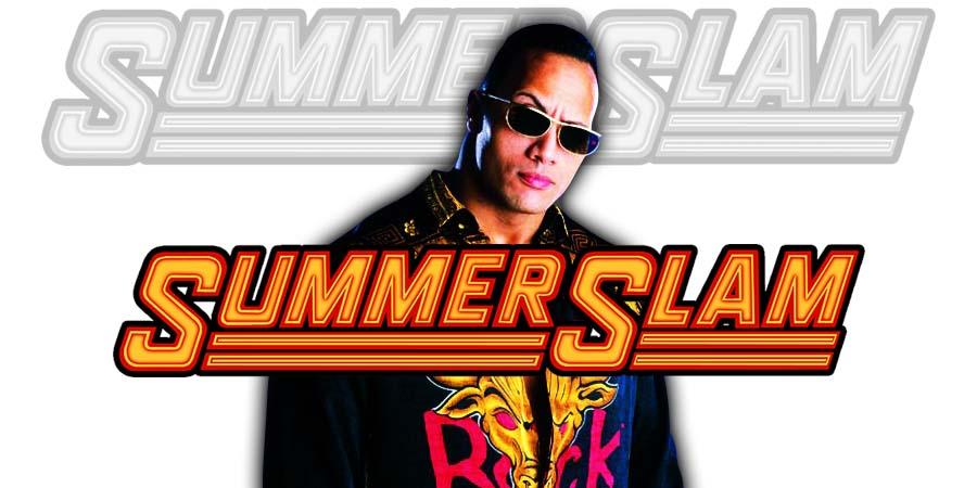The Rock SummerSlam 2018