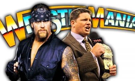 The Undertaker vs AJ Styles WrestleMania 36