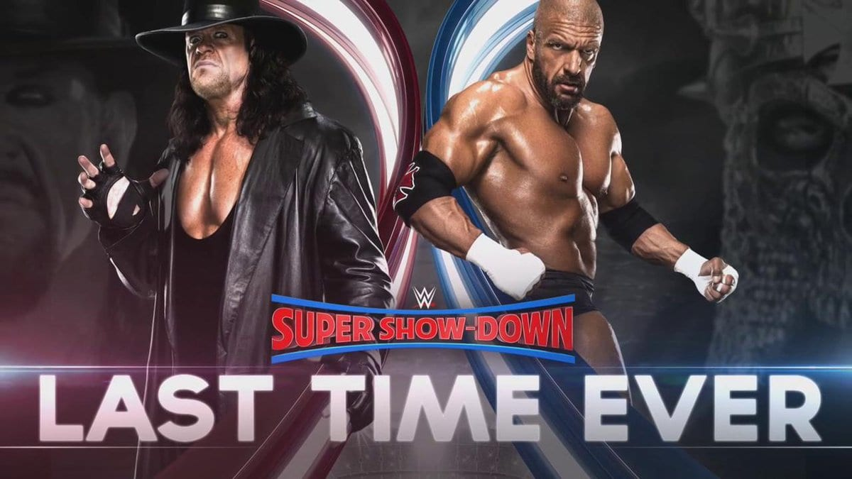 The Undertaker vs. Triple H - Last Time Ever (WWE Super Show-Down 2018)