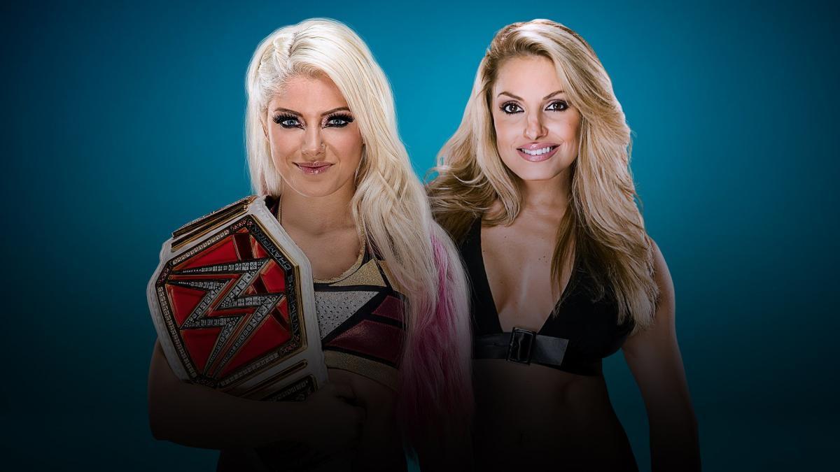 Trish Stratus vs. Alexa Bliss - WWE Evolution 2018 PPV