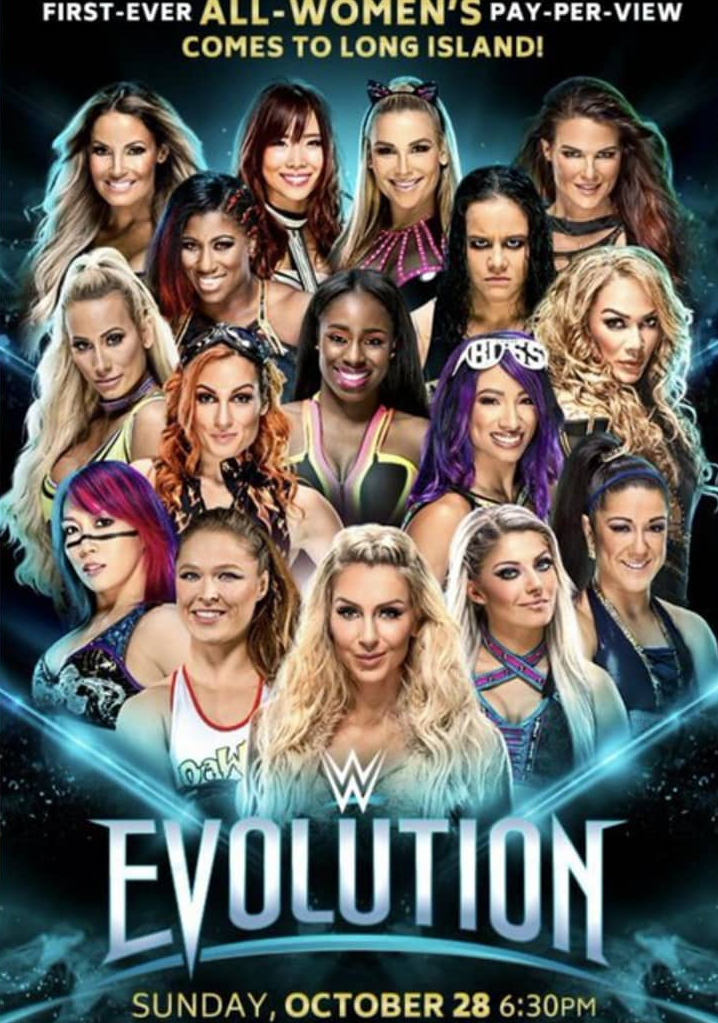 WWE Evolution 2018 PPV Official Poster