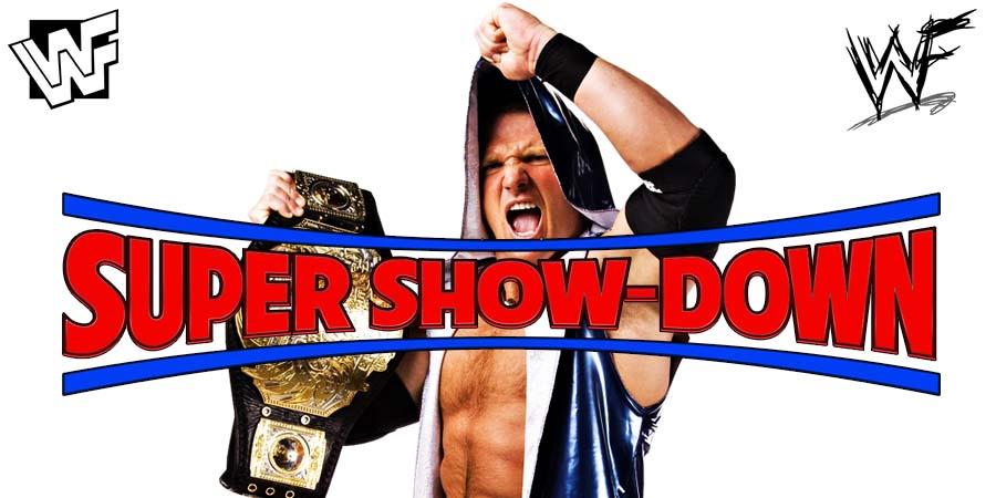 AJ Styles WWE Super Show-Down