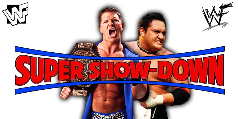 AJ Styles vs. Samoa Joe - WWE Super Show-Down 2018 WWE Championship Match