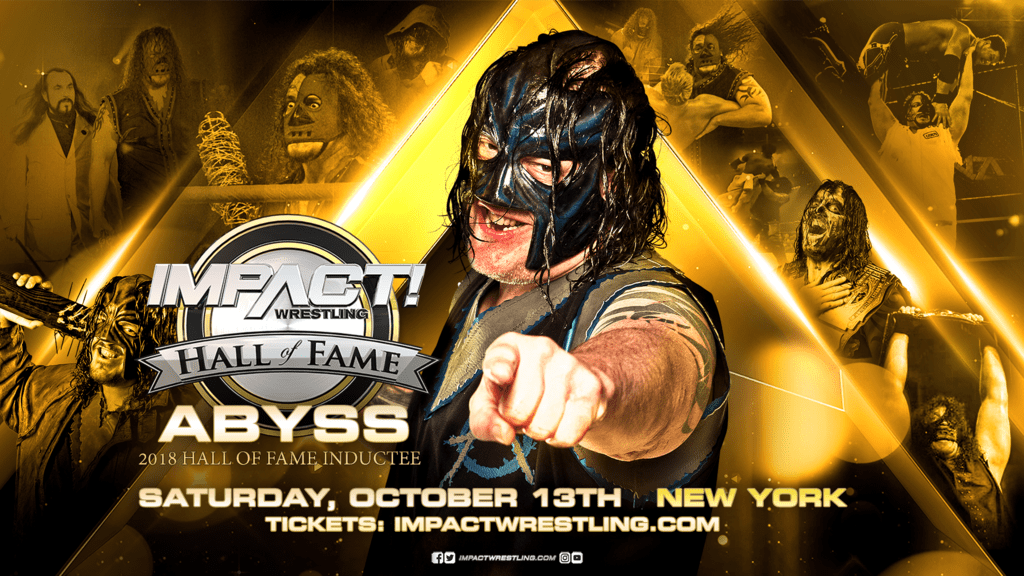Abyss TNA Impact Wrestling Hall Of Fame 2018