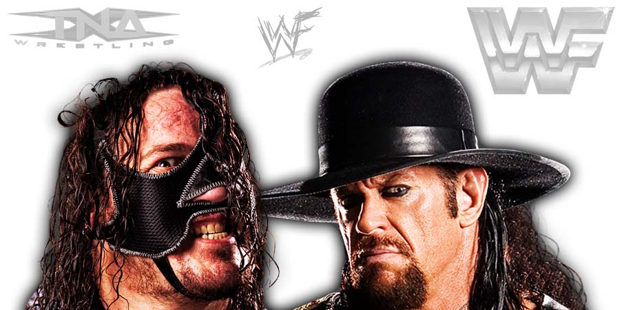 Abyss The Undertaker TNA Impact Wrestling WWE