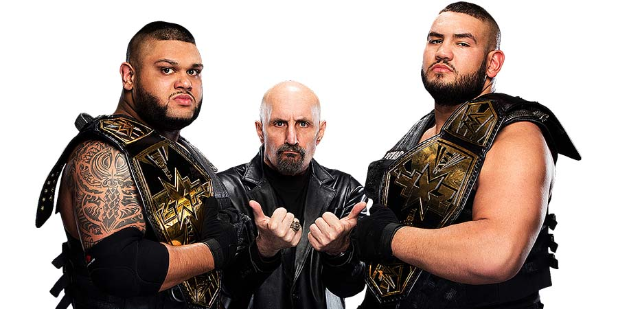 Authors Of Pain AOP WWE NXT Akam Rezar Paul Ellering