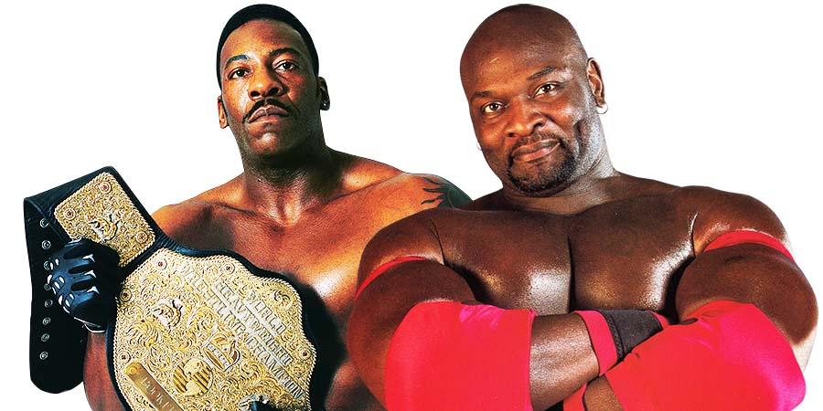 Booker T Ahmed Johnson Big T WWF WCW