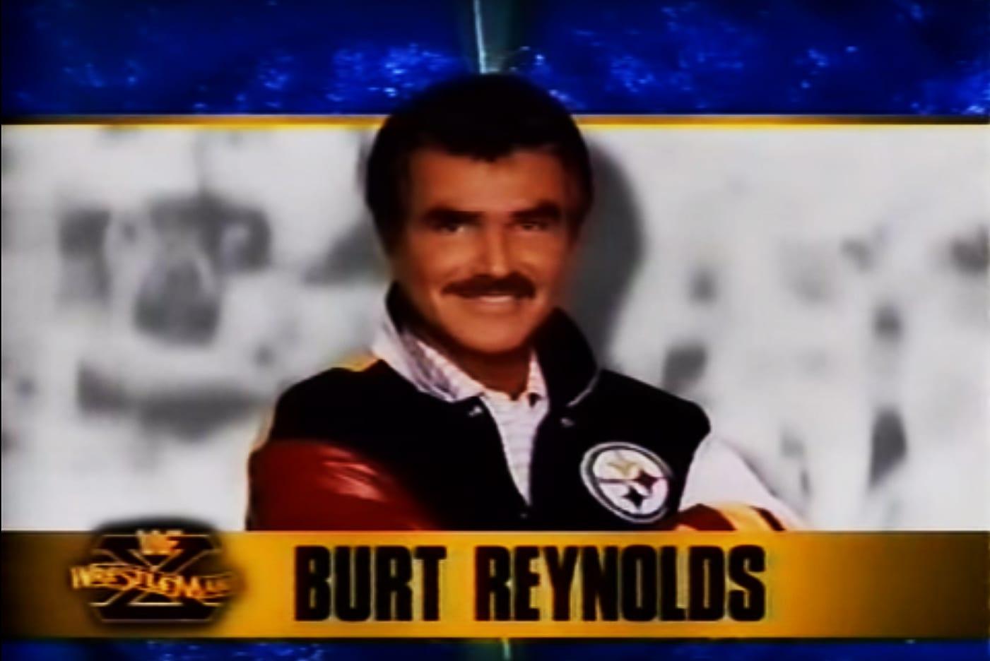 Burt Reynolds WrestleMania X