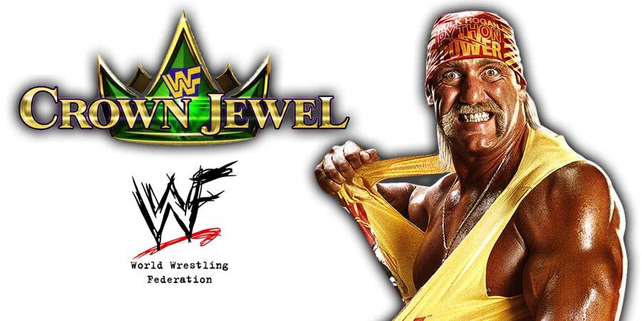 Hulk Hogan Returns WWE Crown Jewel PPV Saudi Arabia 2018