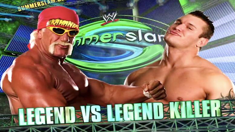 Hulk Hogan vs. Randy Orton - SummerSlam 2006 (Legend vs. Legend Killer)