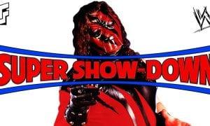 Kane WWE Super Show-Down