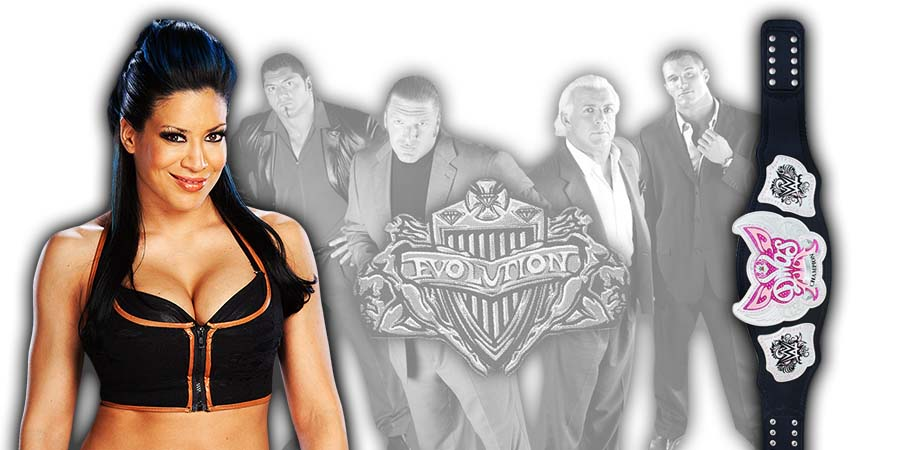 Melina WWE Evolution 2018 PPV
