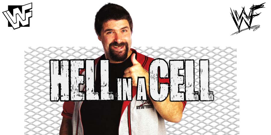 Mick Foley Hell In A Cell 2018