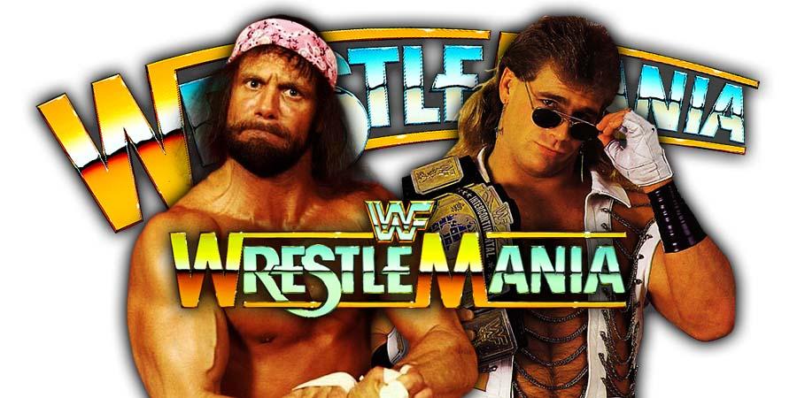 Randy Savage vs. Shawn Michaels - WWF WrestleMania