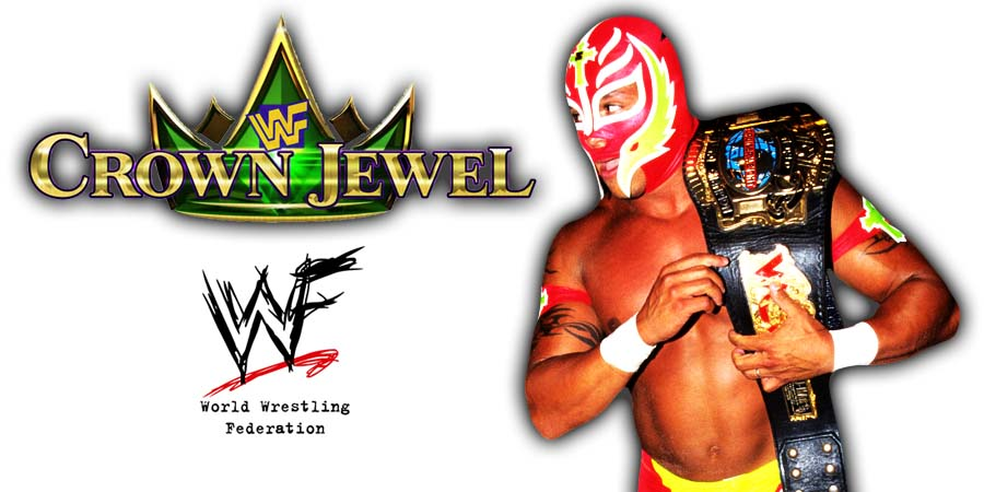 Rey Mysterio WWE Crown Jewel PPV Saudi Arabia 2018