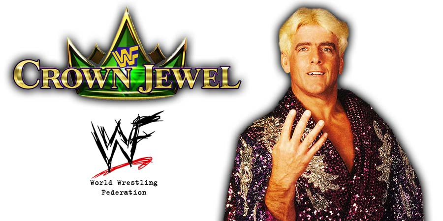 Ric Flair WWE Crown Jewel PPV Saudi Arabia 2018