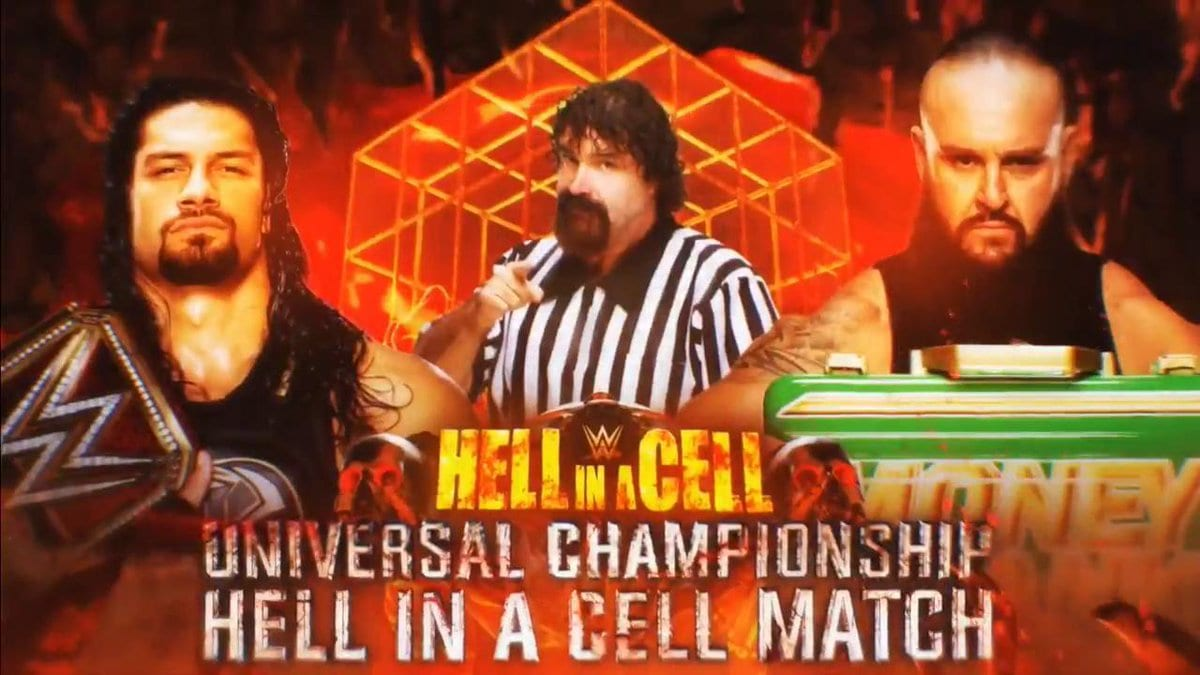 Roman Reigns vs. Braun Strowman - Universal Championship Hell In A Cell Match (Mick Foley Special Guest Referee)