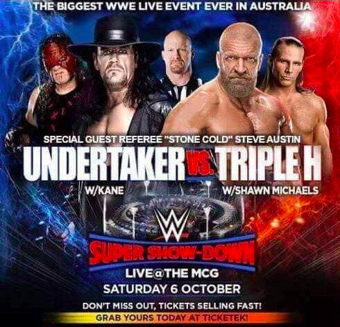Rumor Killer On Stone Cold Steve Austin Being The Special Guest Referee For The Undertaker vs. Triple H Match At WWE Super Show-Down