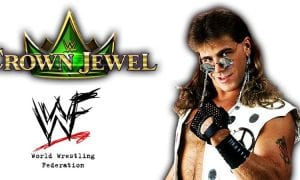 Shawn Michaels WWE Crown Jewel PPV Saudi Arabia 2018